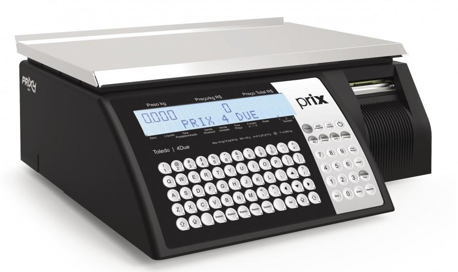 """Balança Computadora com impressora integrada Prix 4 Due Web - Toledo """"homologada pelo Inmetro"""""""